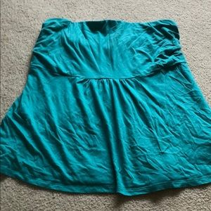 Old Navy Strapless top in teal color size 2XL